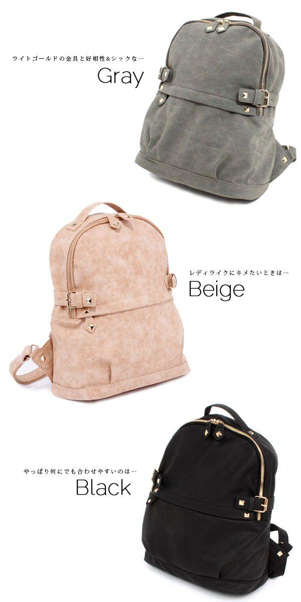 ae2b80fb05a0 【楽天市場】リュックサック スタッズリュックサック SPHK-23682 レディースバッグ 鞄 カバン