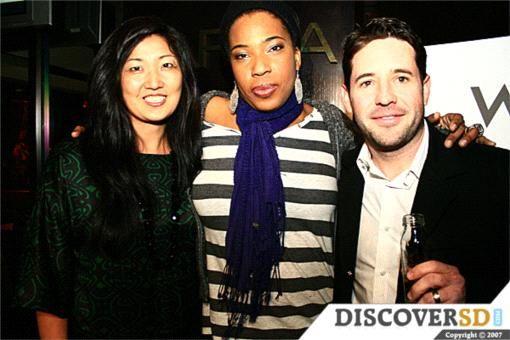 W Hotel San Diego - Grand Opening party (1/11/08) of KARMA Lounge with DJ Nemesis Jackson (aka Macy Gray); created pop-up KARMA Lounge in partnership with Karma Champagne