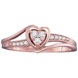 Daniels Jewelers :: 1/8CTW Lovesong Diamond Promise Ring