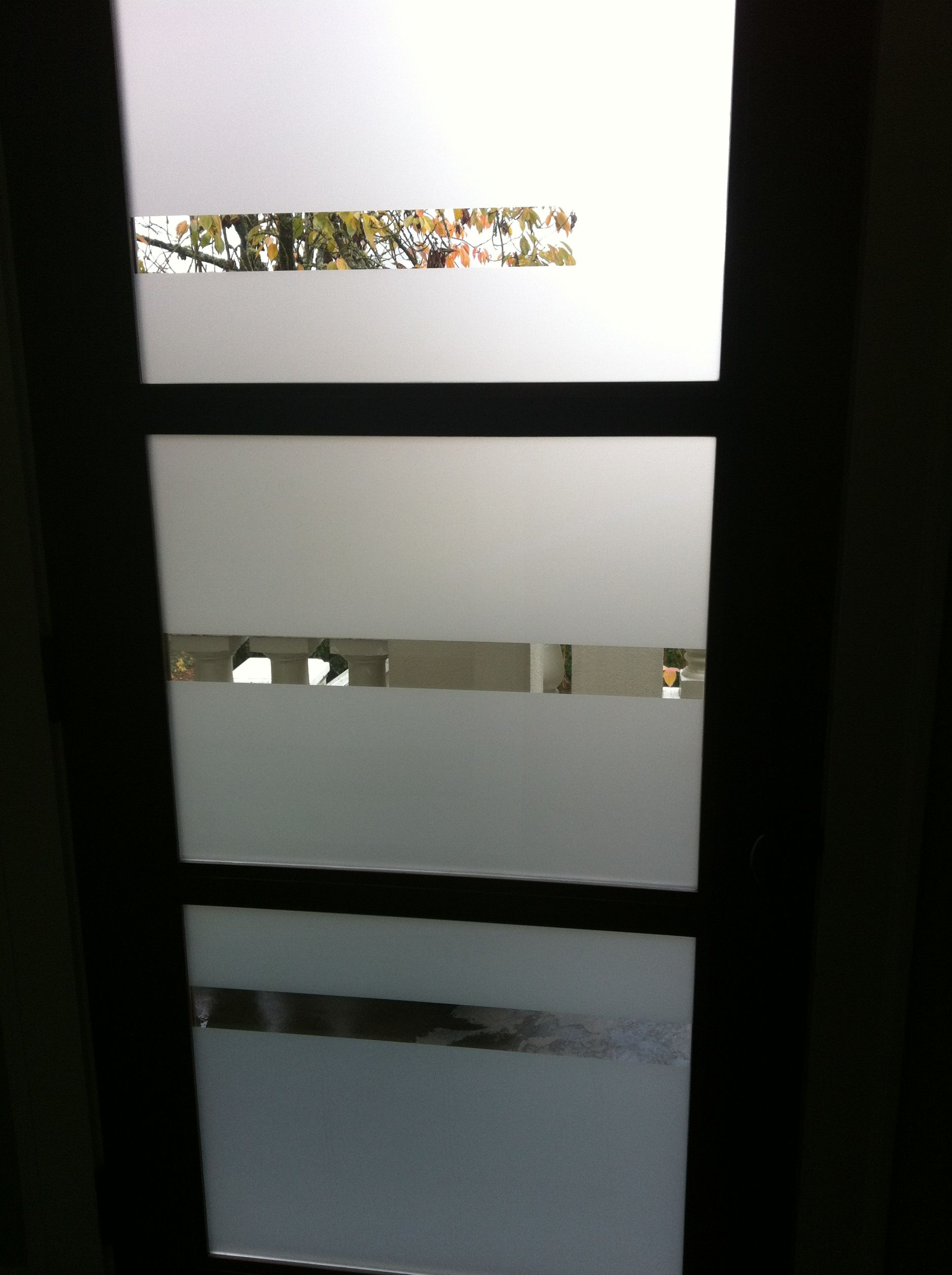 Front Door Glass Privacy Ideas   You Should Go For One Thatu0027s Tough Enough  To Endure The Vagaries Of The Weather Like Rain, Wind, Scorching Heat In  The Sun