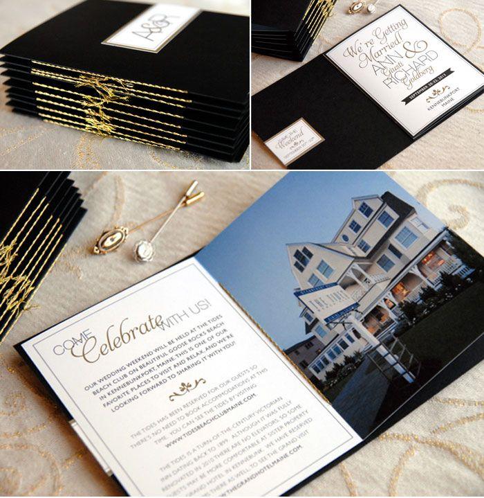 Destination Wedding Invitation Booklets By Adori Designs