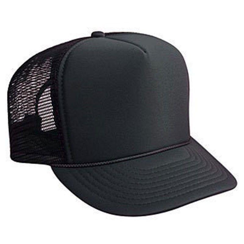 Black Trucker Caps 12 Pack 1455 Black Trucker Hat Mesh Hat Mesh Trucker Hat