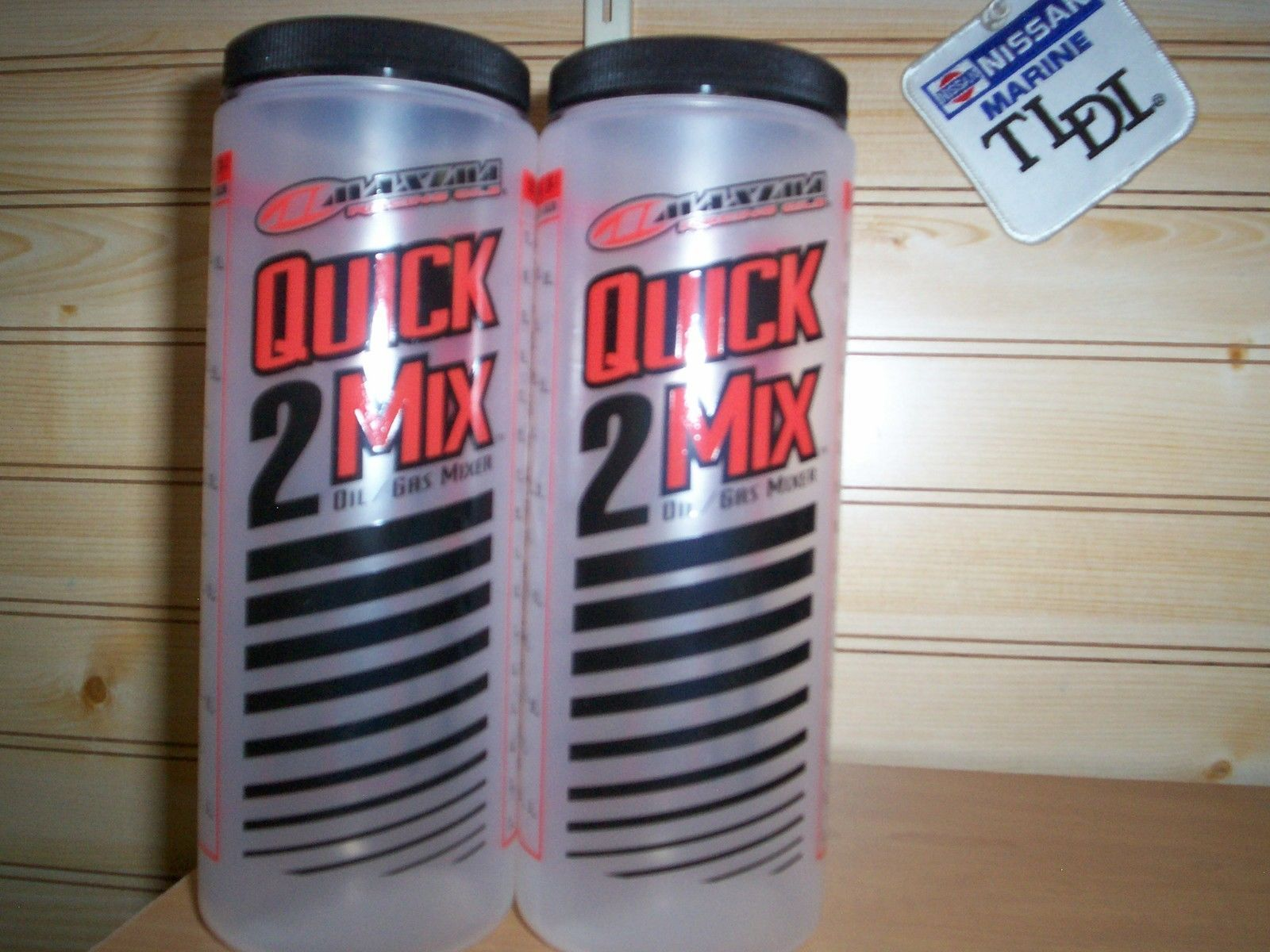 quick mix 2 stroke oil measuring cup with lid MAXIMA ratio rite type