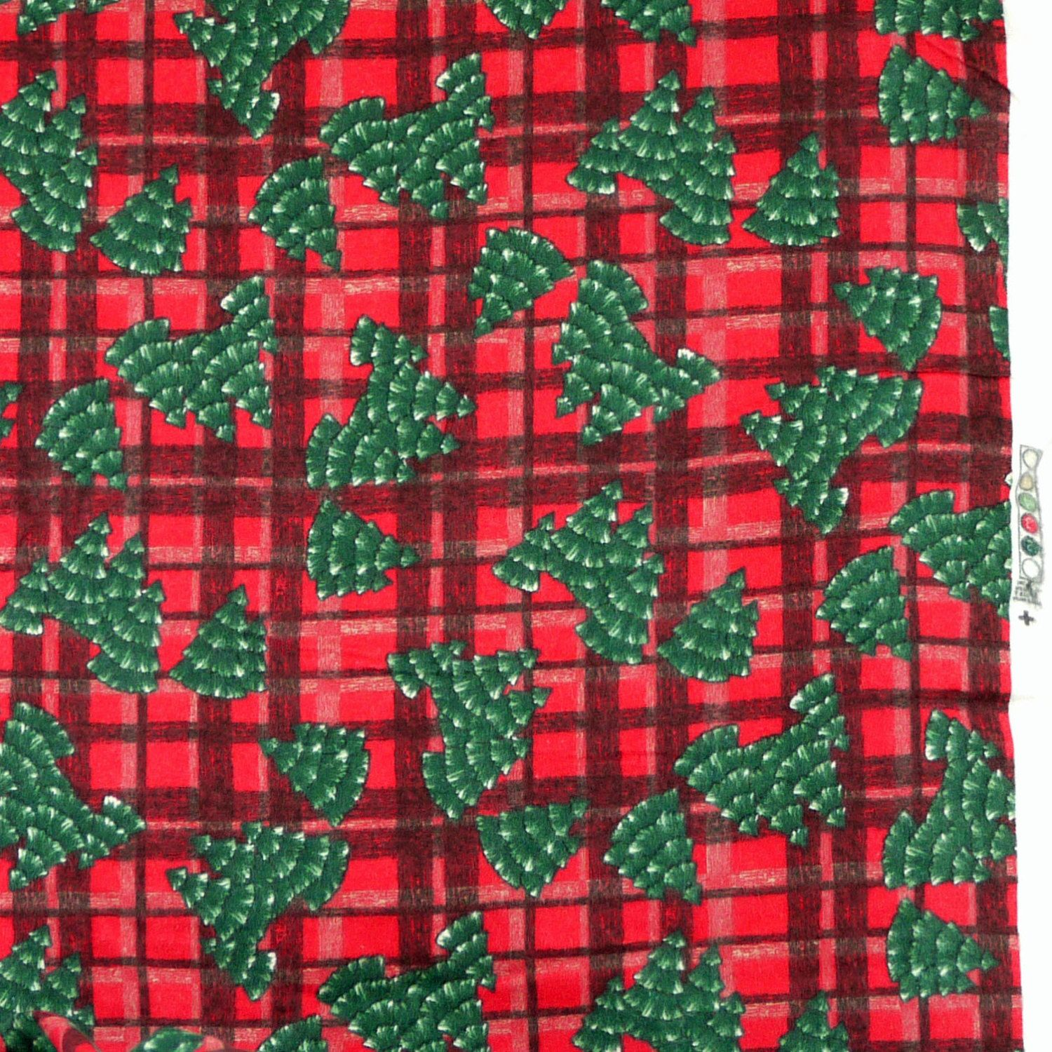 Quilting Flannel, Christmas Print Fabric, Black and Red Plaid ... : quilting flannel fabric - Adamdwight.com