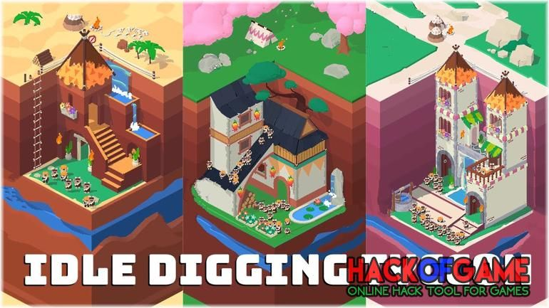 Idle Digging Tycoon Hack 2020 Get Free Unlimited Diamonds To Your Account Simulation Free Unlimited Diamonds How To Addicting Games In Game Currency Game Item