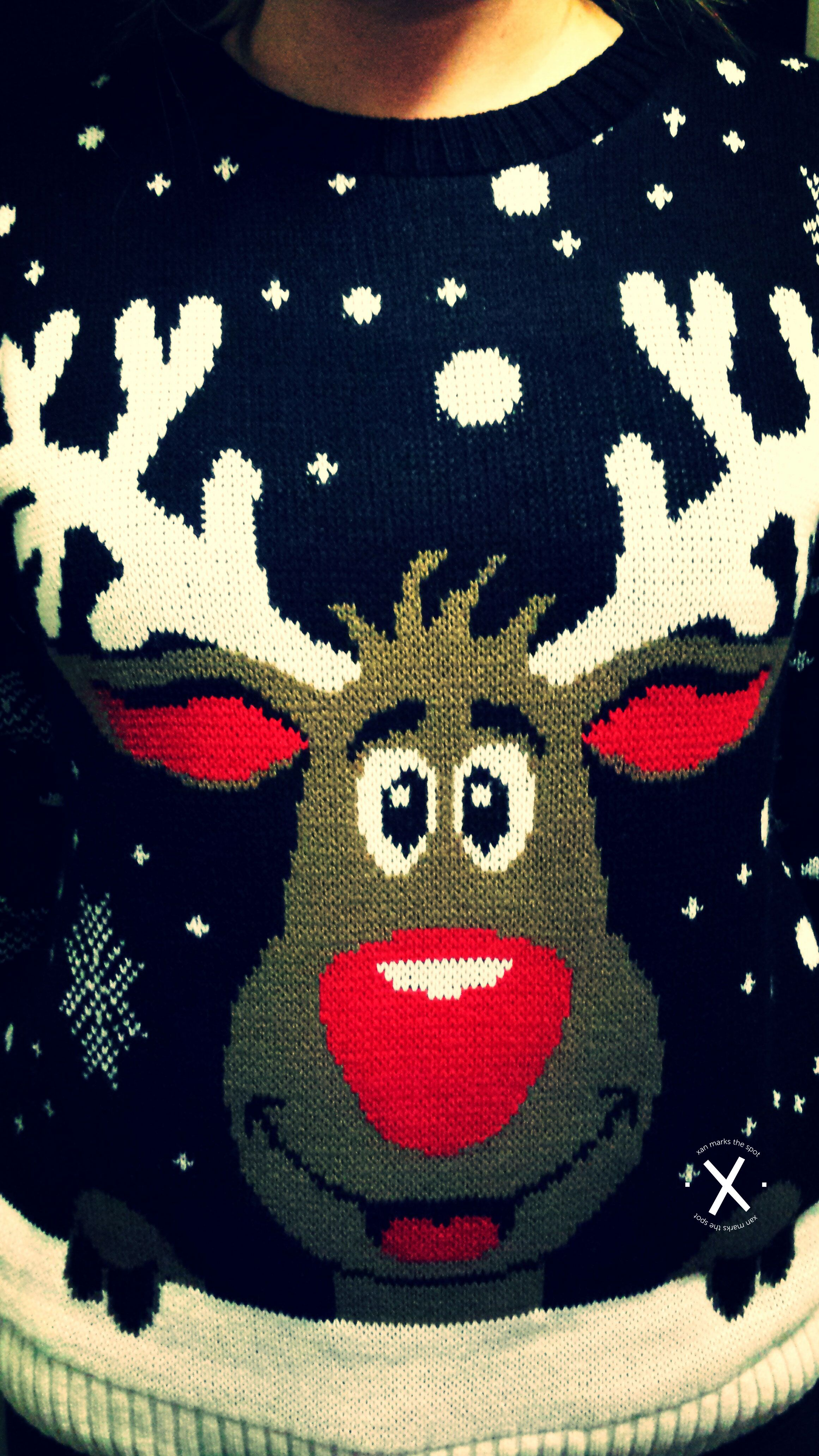 Kersttrui Ah.Foute Kersttrui Met Rudolph The Red Nosed Reindeer Ah Excellent