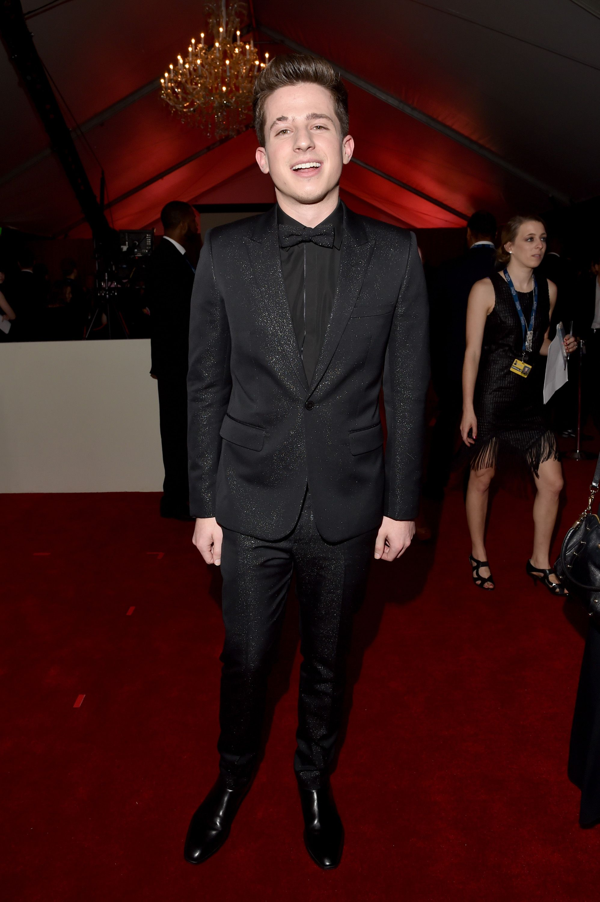 6056989e4a77f Charlie Puth He wore a glitter suit like that is how u do it