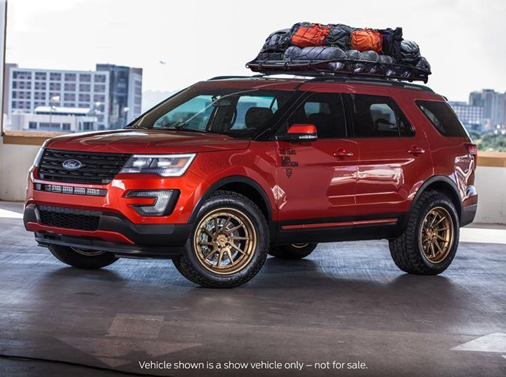 2016 Ford Explorer Sema 2015 With Images Ford Explorer 2020
