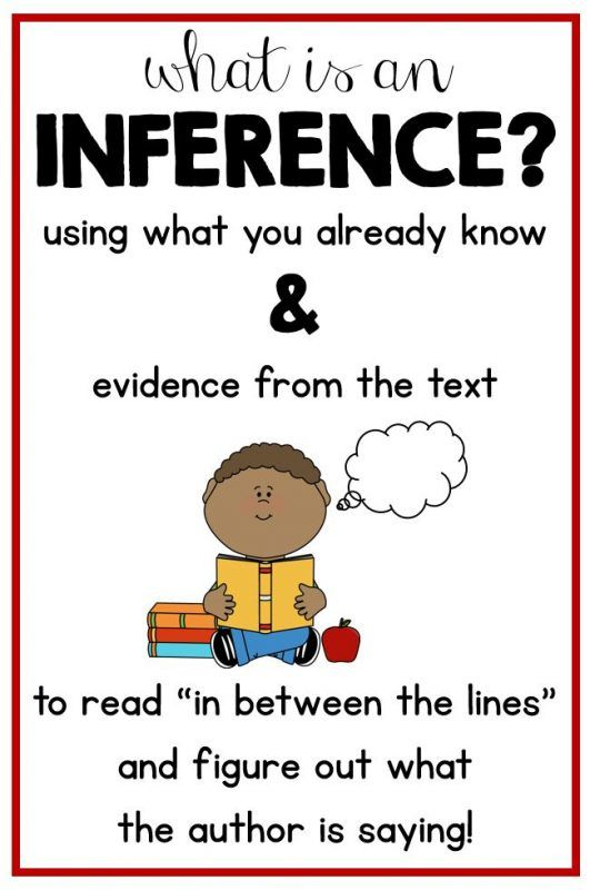 What Is Inference How To Teach Inference Skills To Kids