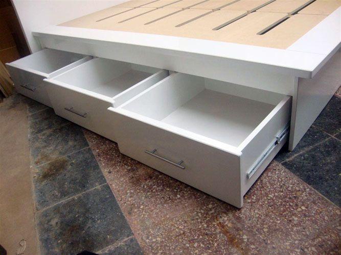 camas altas 150 con cajones debajo - Cerca amb Google | muebles ...