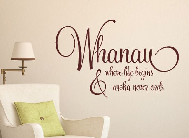 Whanau Where Life Begins Wall Art Pinterest Maori Art - Wall decals nzsilver fern kia ora new zealand maori wall sticker vinyl decal ebay
