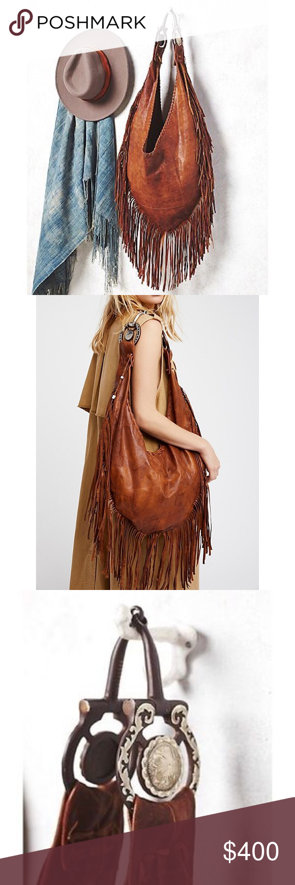 e8ec1f600702 Free People Willow Fringe Hobo Bag in Brown This bag is amazing in person!  Brand