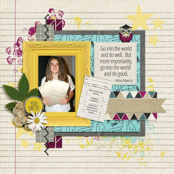The World Waits For You - Fusion Kit from Created by Jill