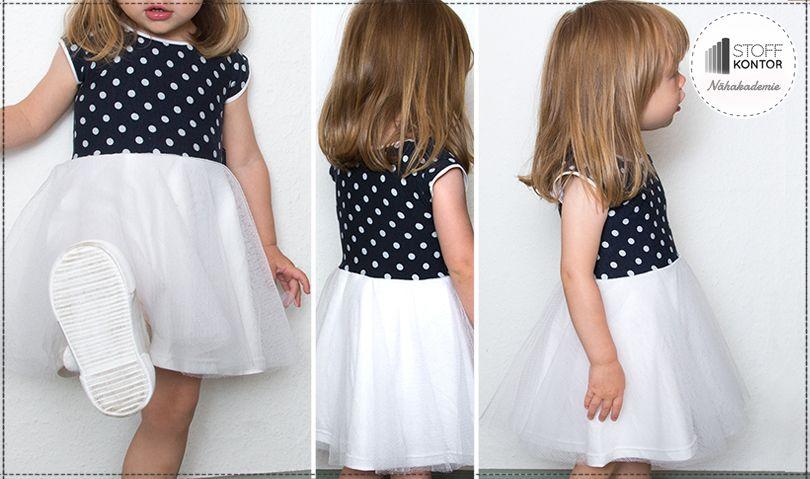 Tüllkleid für Groß und Klein | Nähen - Kleidung | Pinterest | Nähen ...