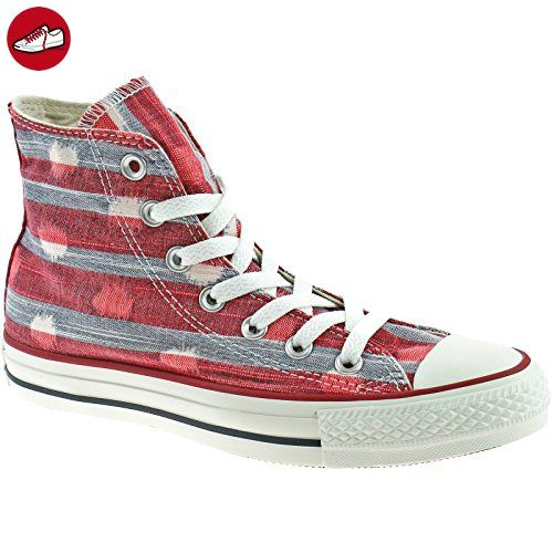 41378257be8fdb Converse Chuck Taylor All Star Striped Polka Dot Shoes - Varsity Red  Athletic Red - UK 3 - Converse schuhe ( Partner-Link)