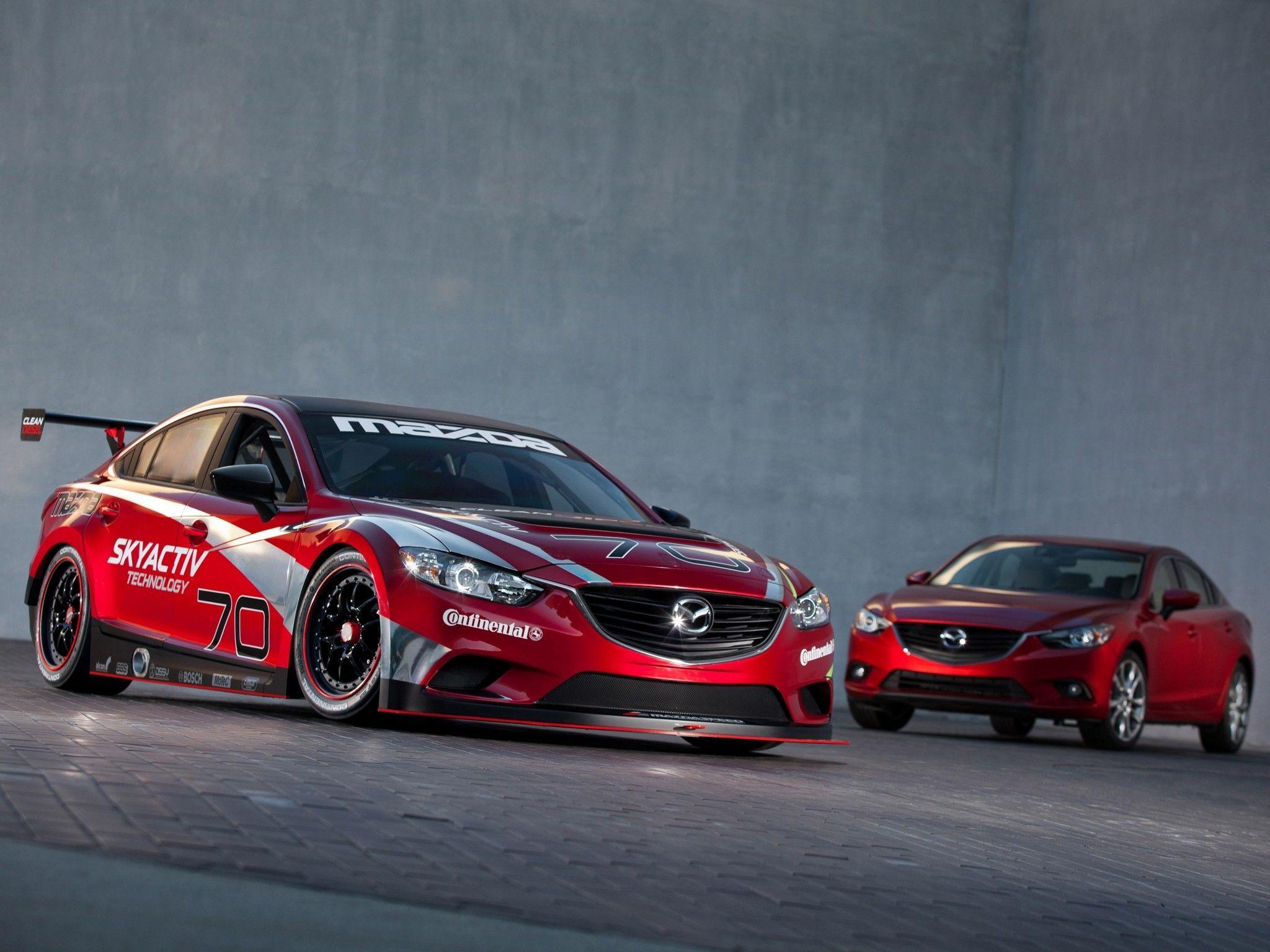 Mazda 6 SkyActivD Race Car Mazda, Mazda 6, Race cars
