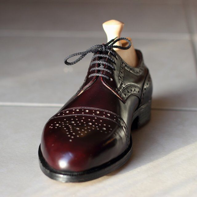 Bespoke Semi Brogue Derby