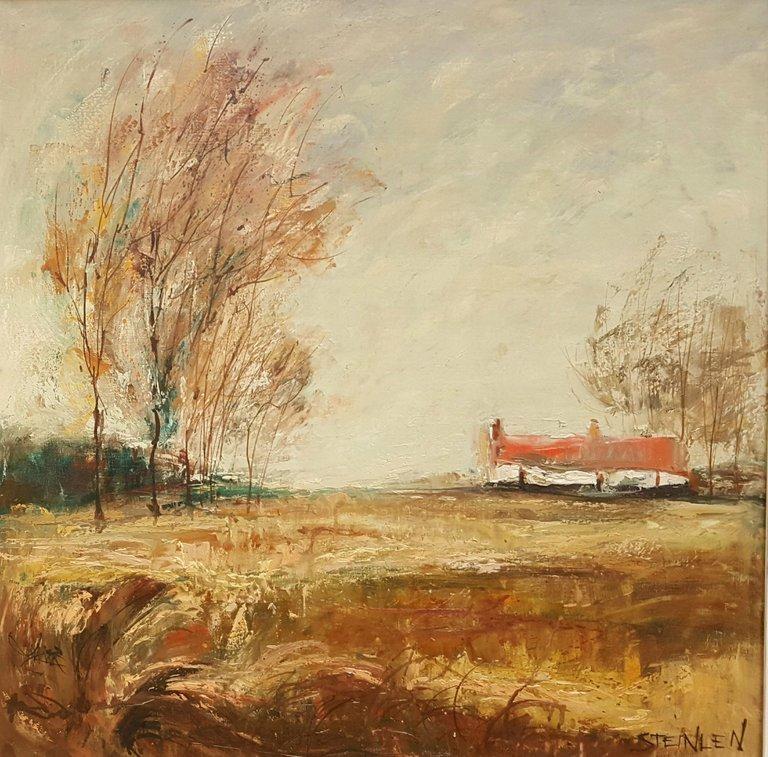 Aime Daniel Steinlen Other Art Style Landscape Painting Flandre Landscape Paintings Painting Landscape