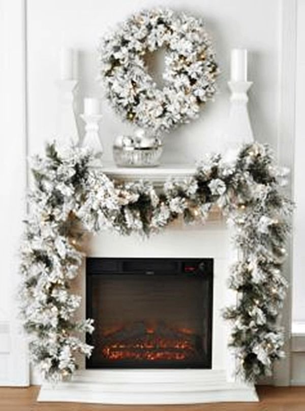 Lighted wreaths and Garlands