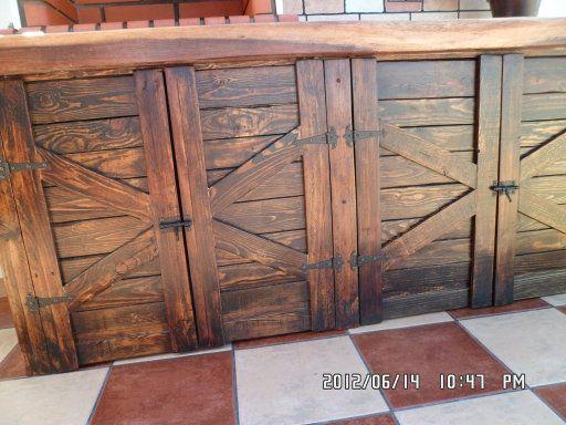 Puertas muebles de cocina hechas de palets | Arquitectura & Diseño ...