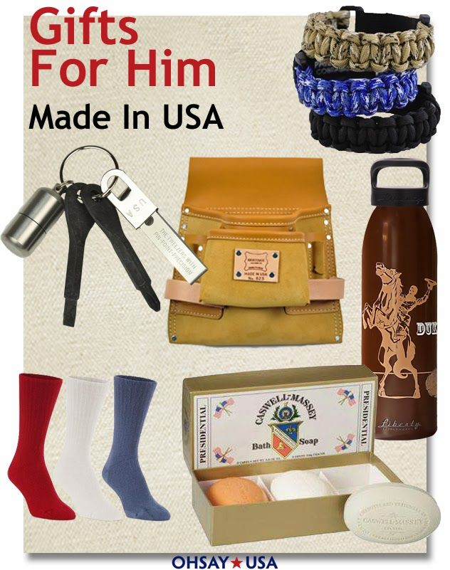 Christmas gifts made in usa mens tools