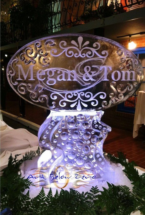 wedding ice sculptures custom made wedding ice sculptures