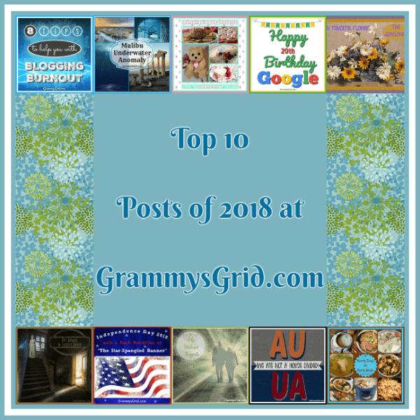 TOP 10 POSTS OF 2018 AT GRAMMY'S GRID! #GrammysGrid #Blog #Blogging #TopPosts #Top10 #2018