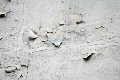 Repairing Peeling Plaster In A Bathroom Plaster Walls Plaster Repair Painting Plaster Walls