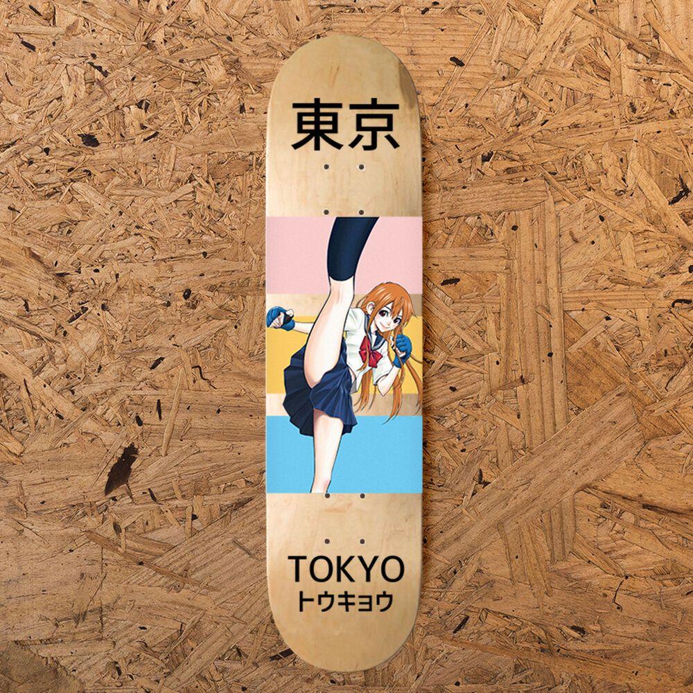 Otaku Mode Professional Skateboard Deck 8 00 Steep Concave Tokyo