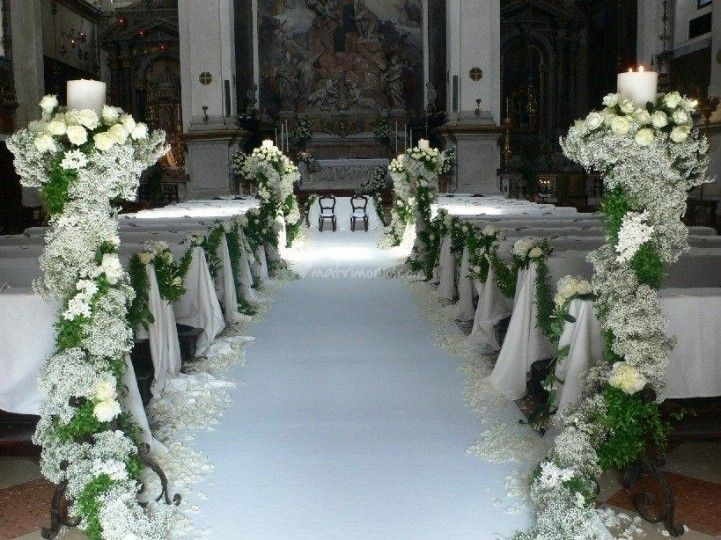 Matrimonio Rustico Chiesa : Matrimonio in chiesa idee decorazioni pinterest