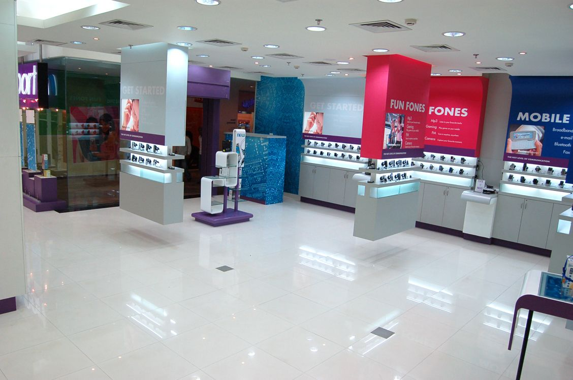 Phone Shop Retail Design Retail Display Store Design By