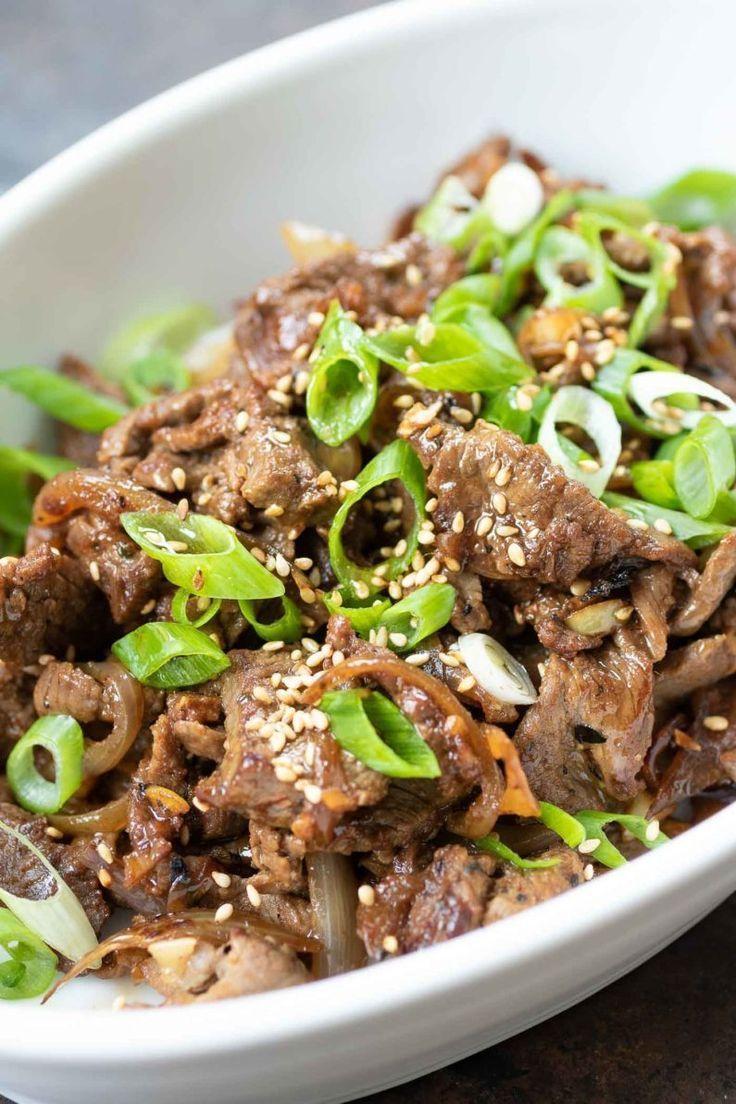 Whole30 Korean Beef Bowl (Bulgogi) | Recipe | Short ribs ...