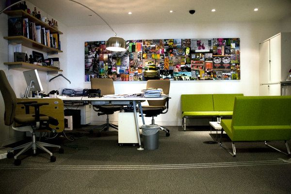 the creative office. The Creative Office. Being A Design Agency, They Certain Have Office To