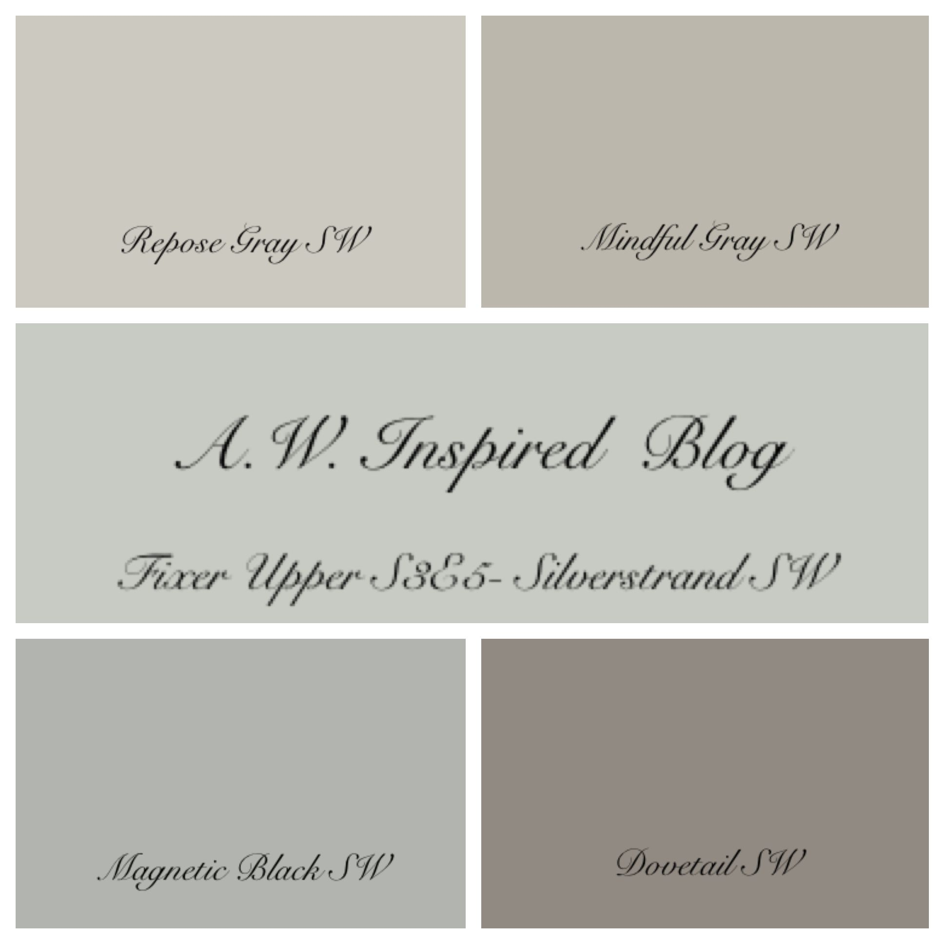 The Exact Paint Colors Used In Season 3 Episode 5 I Was Able To Confirm Hgtv Fixer Upper
