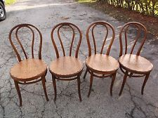 4 Late 1800 S Antique Thonet Style Bentwood Ice Cream Parlor