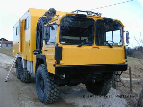 Man Custom 6x6 Camper Expedition Vehicle Expedition Truck