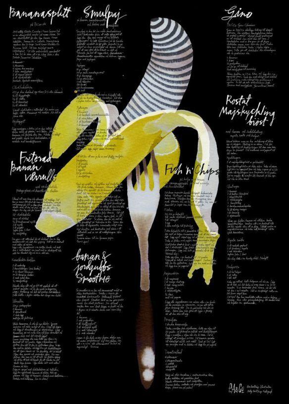 banana poster http://morgatta.wordpress.com/2014/04/08/banana-lovers-part-7-banana-in-the-kitchen/