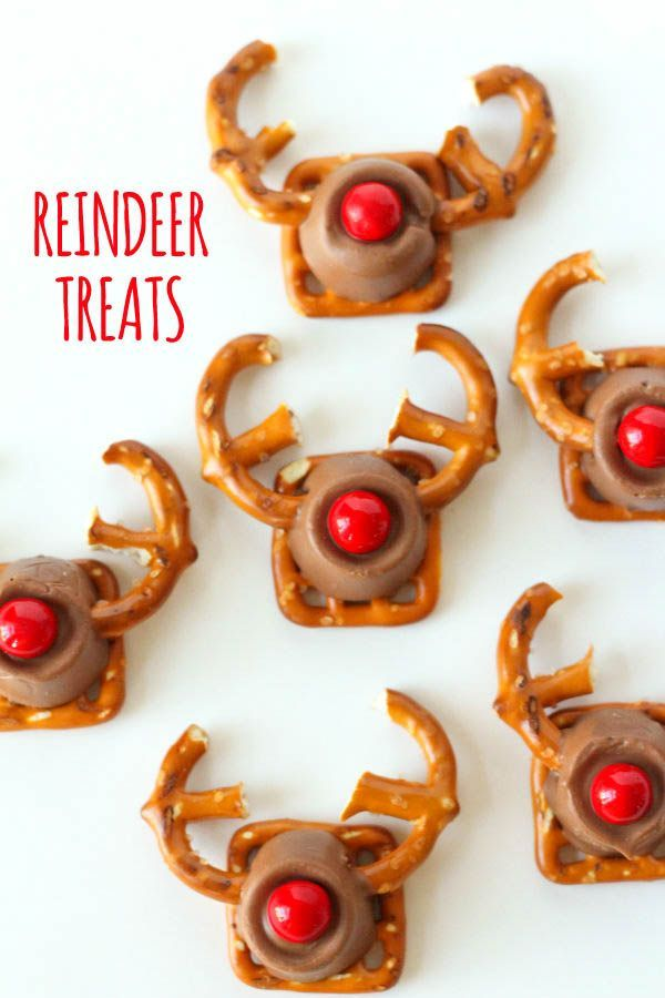 Easy and Cute Rudolph Treats - the kids would love these ...