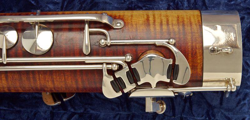 Heckel 6000 bassoon (keywork detail) | bassoons | Bassoon