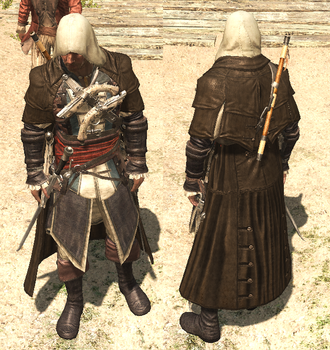 Assassin S Creed Iv Black Flag Outfits Assassins Creed Black Flag Assassins Creed Flag Outfit