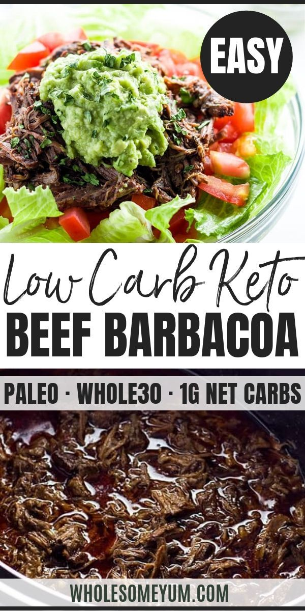 Chipotle Beef Barbacoa Recipe (Slow Cooker / Crock Pot)   Wholesome Yum