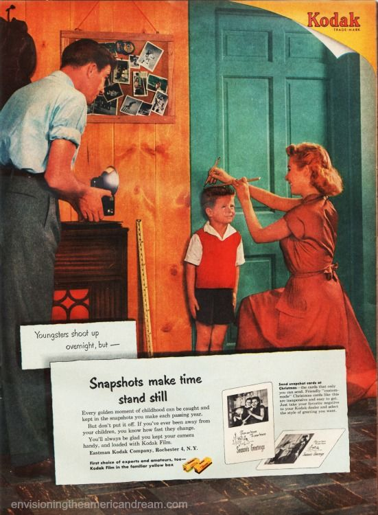 1950s Envisioning The American Dream American Dream Kodak Moment Dream Photography