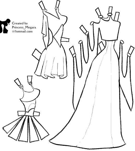 DISNEY para COLOREAR - Nena bonecas de papel - Álbuns da web do ...