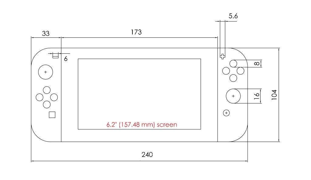 Image Result For Nintendo Switch Dimensions