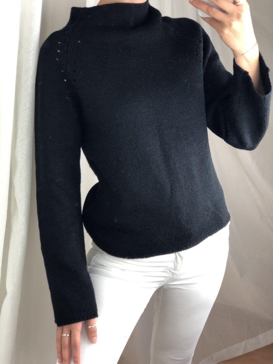 Schwarz Pullover   Mädchenflohmarkt