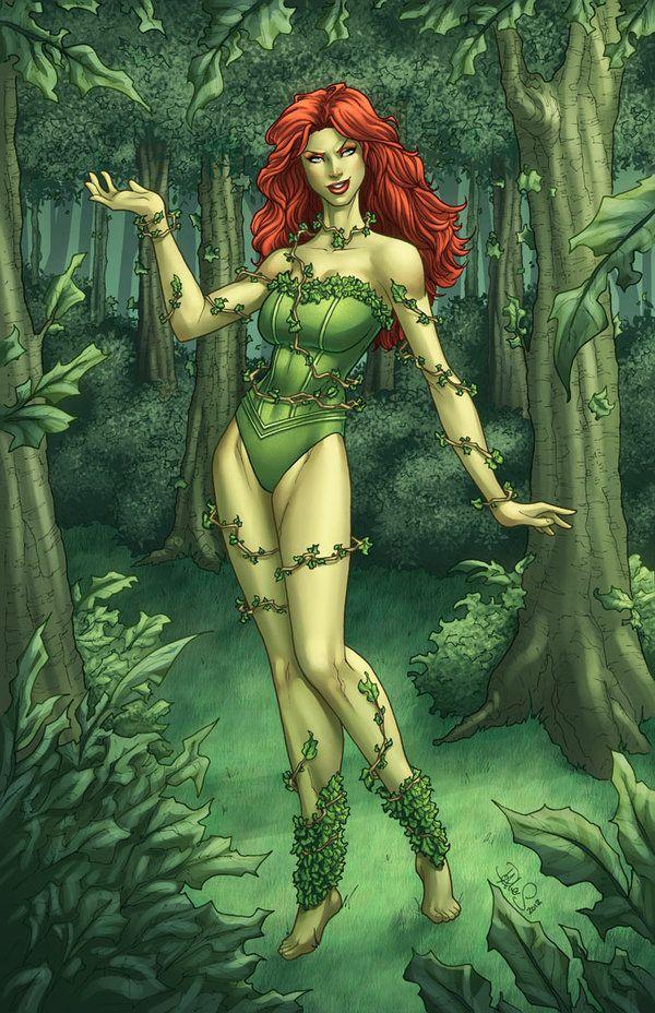 Resultado de imagen para poison ivy dc comics