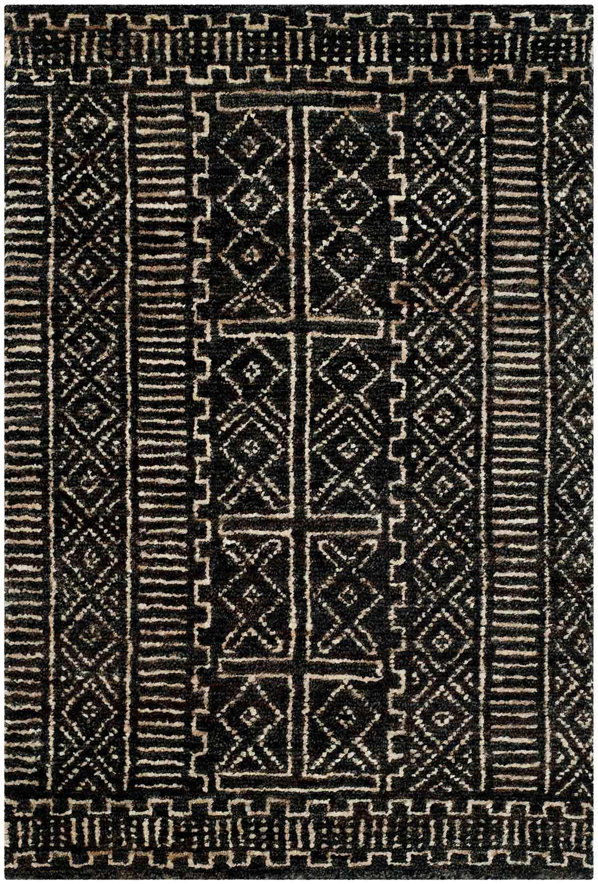 Kenya Rug A Tribal Patterned Area Inspired By Authentic African Kuba Cloth Ralph Lauren Safavieh