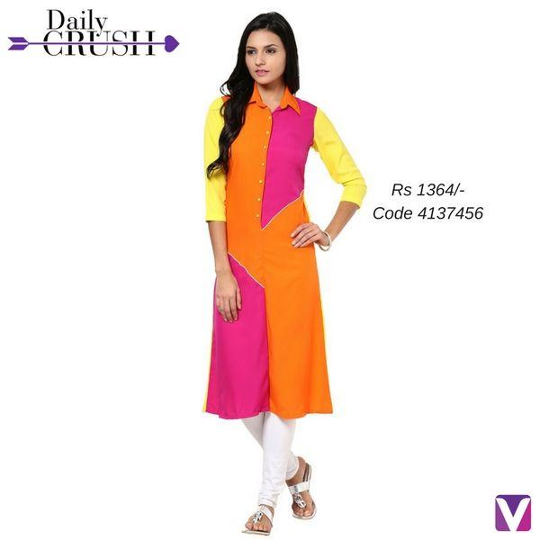 5a3323e6d3 Color Blocking, Colour Block, Salwar Kameez, Duster Coat, Dresses For Work,