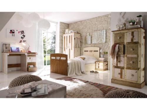 Bett Kinderbett Designer VIP massiv Mangoholz 72kg NEU in ...