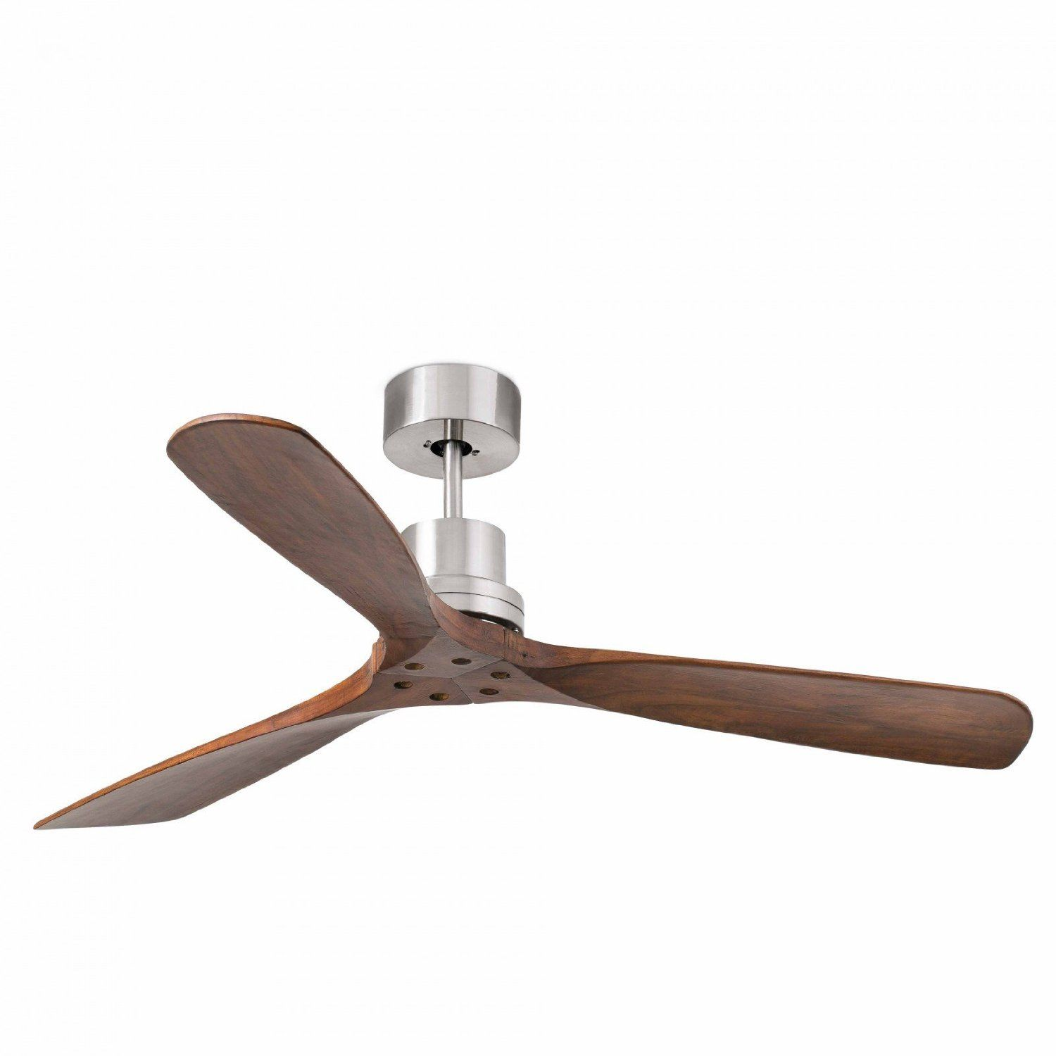 Ceiling Fan Lorefar Lantau Faro 33370 Matte Nickel With 3 Dark